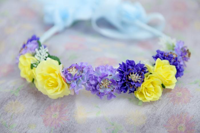 お花の冠・男の子用